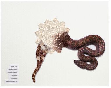 Zoë Buckman, 'Electricity transversed my insides ', 2020