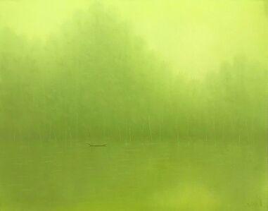 Bui Van Hoan, 'Morning on the river', 2018