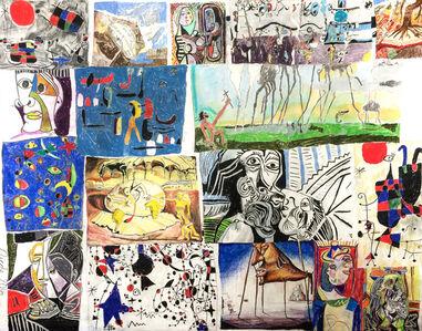 Nicole Appel, 'Miro, Picasso, and Dali', 2016