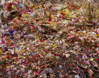 Peter Garfield, 'Alfred E. Newman's Clean Sweep', 2007