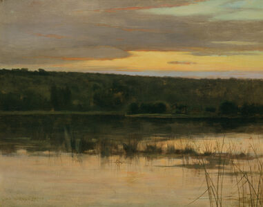 Charles Warren Eaton, 'Quiet Shore', ca. 1885