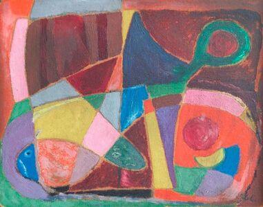 Germán Cueto, 'Abstracto Peces', No date / Sin fecha