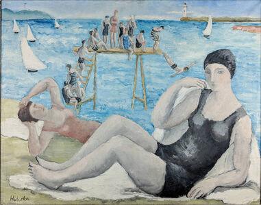 Alice Halicka, 'Untitled (Beach Scene)'