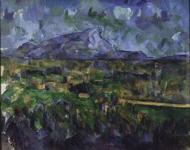 Paul Cézanne, 'Mont Sainte-Victoire', 1902-1906