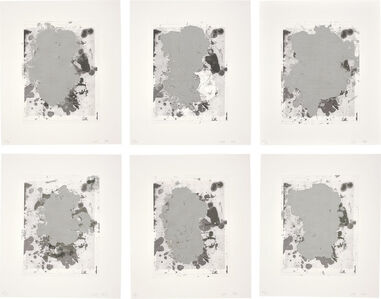 Christopher Wool, 'Portraits (b/w)', 2014
