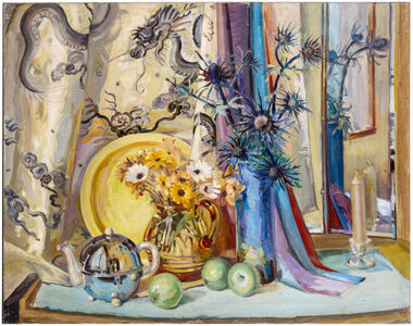 Mary Ballantine, 'Summer flowers and apples', 1944