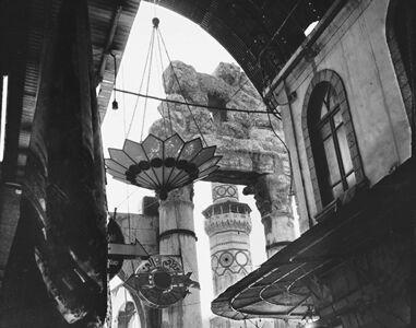 Alain Ceccaroli, 'Al Hamidiyah Souq and the Jupiter temple columns, Syria {Souk Al Hamidiyeh et colonnes du temple de Jupiter, Syrie}', 1998
