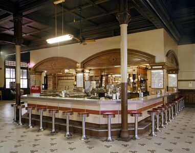 Jim Dow, 'Lunch Counter at Union Depot Railroad Station, Pueblo, Colorado', 1981