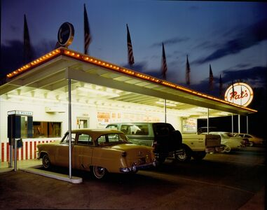 Jim Dow, 'Pat's Drive-In, Tucson, Arizona', 1980