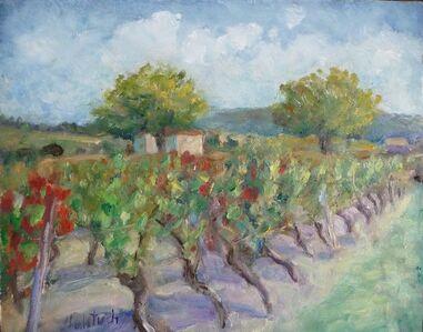 Helene Halstuch, 'Les Vignes, Automne'