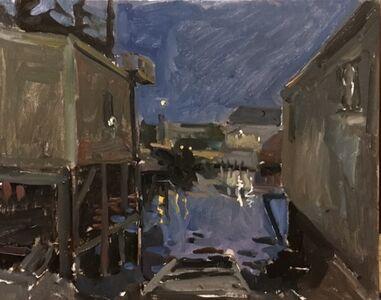 Kelly Carmody, 'Dusk, Stonington Docks', 2018