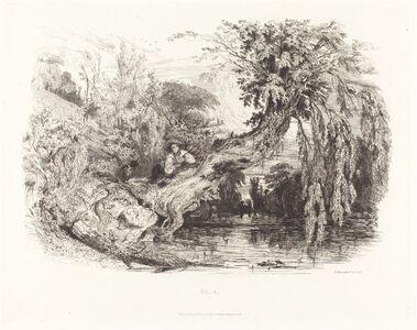 Paul Huet, 'The Poacher', 1834