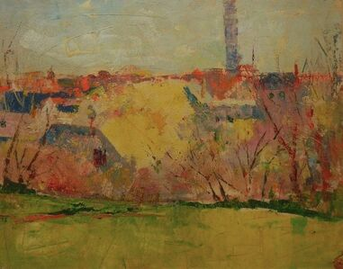 Charles Webster Hawthorne, 'Untitled, Provincetown View (Monument)', n.d.