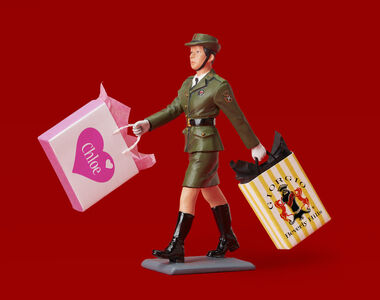 Jim Riswold, 'THE PEOPLE'S LIBERATION ARMY GOES SHOPPING (AT CHLOE AND GIORGIO)', 2015