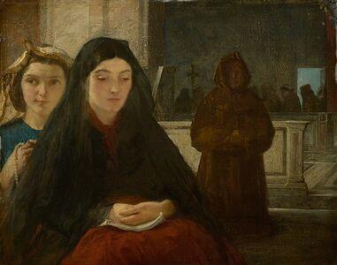 Sir William Fettes Douglas, 'Women in Church', 1860s