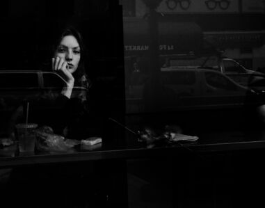 Jake Lambroza, 'The Girl in the Cafe', ca. 2016
