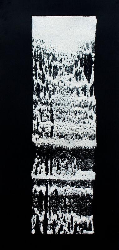 James Nares, 'Road Paint Prints', 2016, Print, Intaglio from Polyurethane Mold on Screenprinted 500gsm Somerset Satin Paper, Durham Press, Inc.
