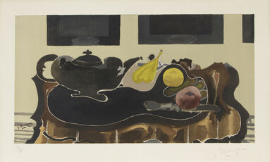 Nature Morte after Georges Braque