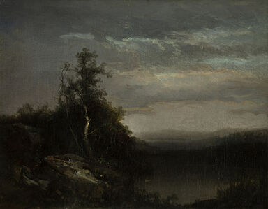 Homer Dodge Martin, 'Evening Solace'