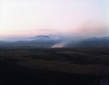 Virginia Beahan, 'Burning cane fields, Valley of the Sugar Mills, Trinidad', 2006
