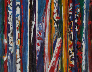 Heidi Oberheide, 'Textured Tree Froms', 2020