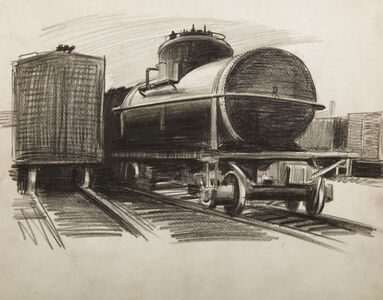 Ture Bengtz, '[Train]', ca. 1960