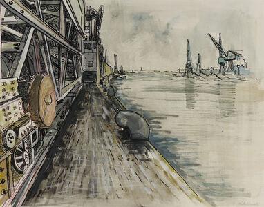 Käthe Strenitz, 'Dock Yards', Unknown