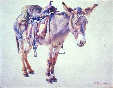William Robinson Leigh, 'Navaho Burro', circa 1915-1933