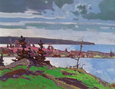 Robert Genn, 'Points - Georgian Bay', 1990-2000