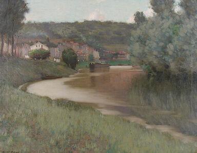 Edward Dufner, 'River Scene', 1905