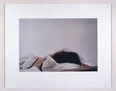 Troy Brauntuch, 'Untitled (Anne Sleeping)', 1997