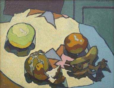 Cyril Mann, 'Still Life with Fruit', 1956