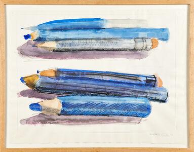 Grace Knowlton, 'Pencils', 1978