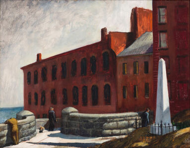 Polly Thayer Starr, 'View From Copp's Hill, Boston', ca. 1930