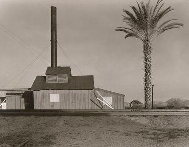 Wright Morris, 'Powerhouse and Palm Tree, Near Lordsburg, New Mexico', 1940