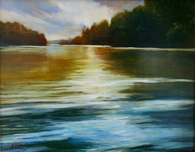 Janine Robertson, 'Reflecting Waters'