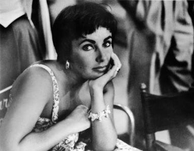Phil Stern, 'Elizabeth Taylor', 1954