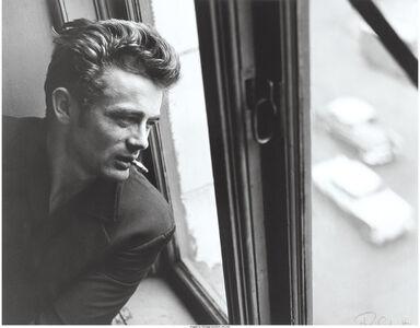 Roy Schatt, 'James Dean in window with cigarette, ABC Studios, New York City', 1964