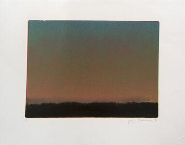 John Beerman, 'Landscape with Sunset I', 1994
