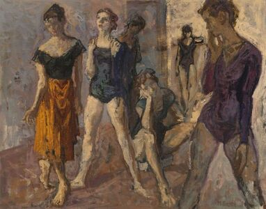 Moses Soyer, 'Seven Dancers', 1899-1974