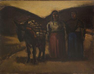 Josef Herman RA, 'Two Indian Women', 1968