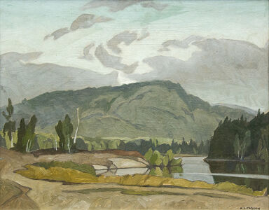 Alfred Joseph Casson, 'Early Morning, Goose Lake', 1974