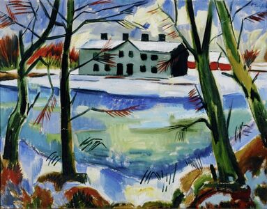 Max Pechstein, 'Schneeschmelze (Melting Snow)', 1922