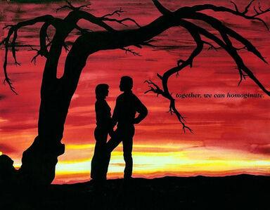 Dani Tull, 'Together, We Can Homoginate', 1990-1999