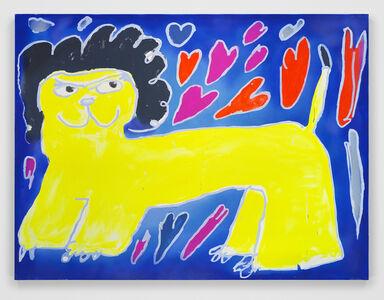 Austin Lee, 'Lion Painting', 2020