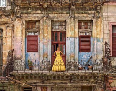 Frank Thiel, 'Lianne González Oñates, La Habana, Centro Habana, Dragones, San Leopoldo', 2015