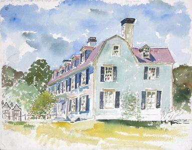 Adam Van Doren, 'John Adams House from the Road', 2015