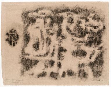 Willi Baumeister, 'Aufzug der Giganten', 1944