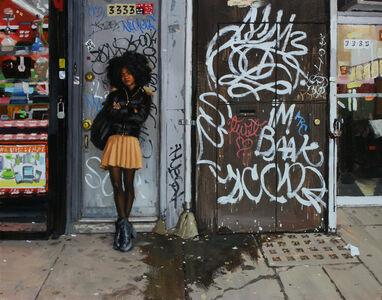 Vincent Giarrano, 'Jade with Graffiti'