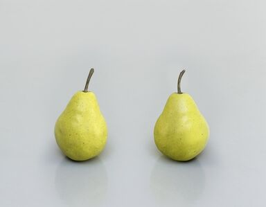 Ugo Rondinone, 'still.life. (two pears)', 2011